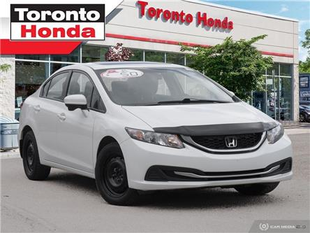 2015 Honda Civic Sedan EX (Stk: H40083A) in Toronto - Image 1 of 26