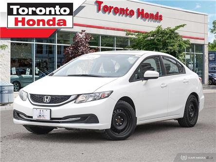 2015 Honda Civic Sedan EX (Stk: H40135P) in Toronto - Image 1 of 28