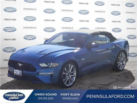 2019 Ford Mustang GT Premium (Stk: 1966) in Owen Sound - Image 1 of 24