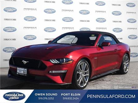 2019 Ford Mustang GT Premium (Stk: 1967) in Owen Sound - Image 1 of 25