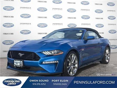 2019 Ford Mustang GT Premium (Stk: 1970) in Owen Sound - Image 1 of 25