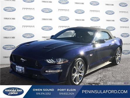 2019 Ford Mustang GT Premium (Stk: 1969) in Owen Sound - Image 1 of 25