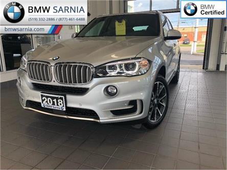 2018 BMW X5 xDrive35i (Stk: XU244) in Sarnia - Image 1 of 21
