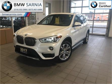 2017 BMW X1 xDrive28i (Stk: XU257) in Sarnia - Image 1 of 20