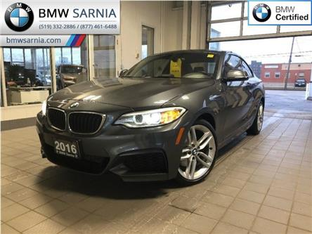 2016 BMW 2 Series 228i xDrive AWD (Stk: BU693) in Sarnia - Image 1 of 18