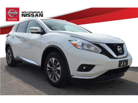 2017 Nissan Murano SL (Stk: C35166B) in Thornhill - Image 1 of 27