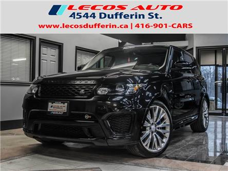 2016 Land Rover Range Rover Sport V8 Supercharged (Stk: 547605) in Toronto - Image 1 of 30