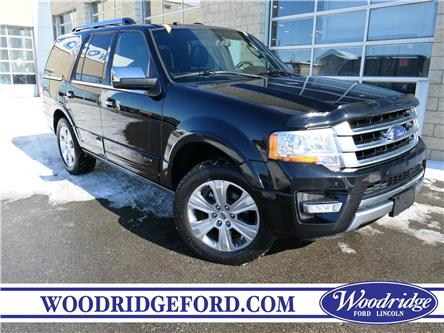2017 Ford Expedition Platinum (Stk: L-87A) in Calgary - Image 1 of 24