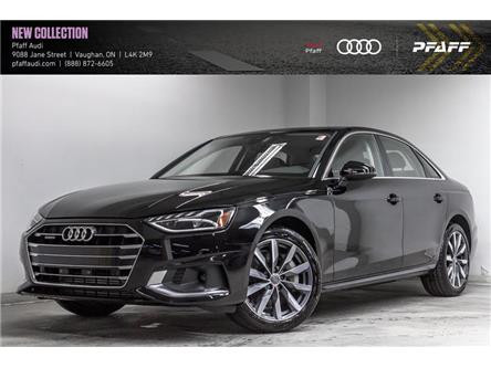 2020 Audi A4 2.0T Komfort (Stk: T18243) in Vaughan - Image 1 of 22
