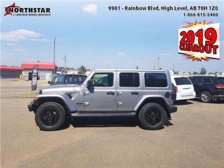 2019 Jeep Wrangler Unlimited Sahara (Stk: ST185) in  - Image 1 of 20