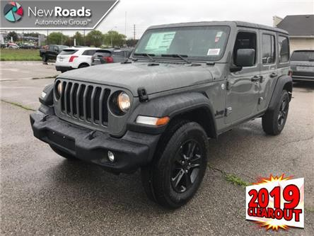 2019 Jeep Wrangler Unlimited Sport (Stk: W19001) in Newmarket - Image 1 of 21