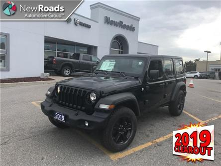 2019 Jeep Wrangler Unlimited Sport (Stk: W19019) in Newmarket - Image 1 of 22