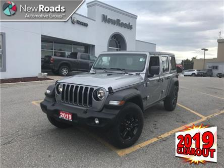 2019 Jeep Wrangler Unlimited Sport (Stk: W19021) in Newmarket - Image 1 of 21