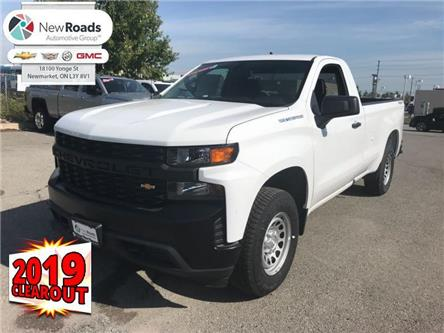 2019 Chevrolet Silverado 1500 Work Truck (Stk: G224583) in Newmarket - Image 1 of 21