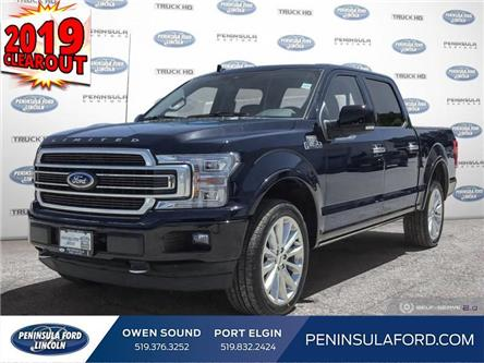 2019 Ford F-150 Limited (Stk: 19FE202) in Owen Sound - Image 1 of 24