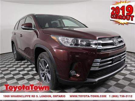 2019 Toyota Highlander XLE (Stk: D1808) in London - Image 1 of 30