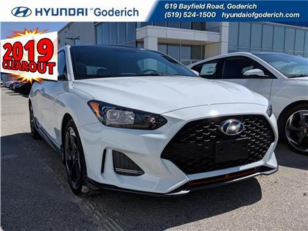2019 Hyundai Veloster Turbo Manual (Stk: 90001) in Goderich - Image 1 of 11