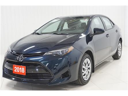 2018 Toyota Corolla LE (Stk: P5734) in Sault Ste. Marie - Image 1 of 20