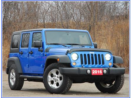 2016 Jeep Wrangler Unlimited Sport (Stk: D96460B) in Kitchener - Image 1 of 18