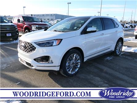 2020 Ford Edge Titanium (Stk: L-929) in Calgary - Image 1 of 6