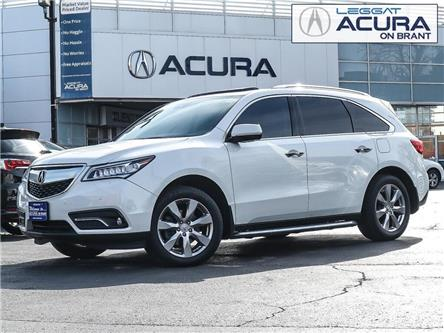 2016 Acura MDX Elite Package (Stk: 20139A) in Burlington - Image 1 of 29