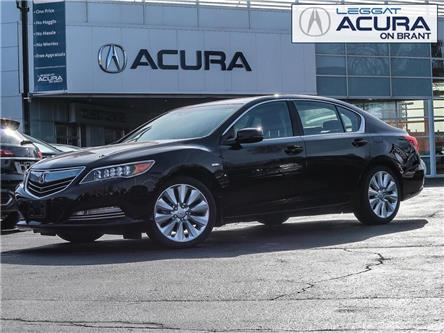 2016 Acura RLX Sport Hybrid Elite Package (Stk: D494) in Burlington - Image 1 of 29
