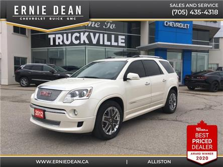 2012 GMC Acadia Denali (Stk: 15066A) in Alliston - Image 1 of 27