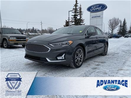 2019 Ford Fusion Hybrid Titanium (Stk: 5618) in Calgary - Image 1 of 27