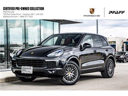 2017 Porsche Cayenne Platinum Edition (Stk: U8586) in Vaughan - Image 1 of 22