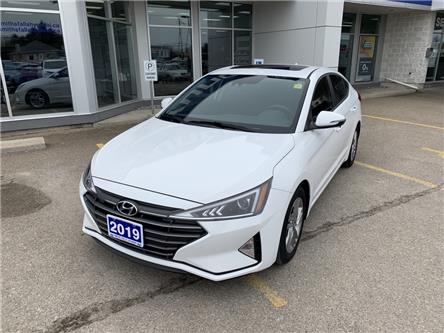 2019 Hyundai Elantra Preferred (Stk: P3177) in Smiths Falls - Image 1 of 10