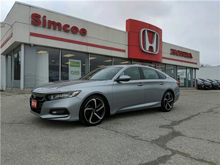2018 Honda Accord Sport 2.0T (Stk: SH193) in Simcoe - Image 1 of 17
