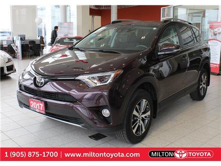 2017 Toyota RAV4 XLE (Stk: 393635) in Milton - Image 1 of 37