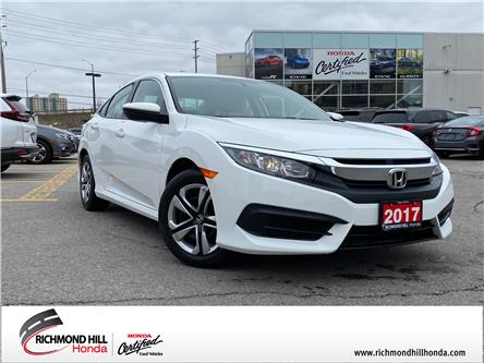 2017 Honda Civic LX (Stk: 202328P) in Richmond Hill - Image 1 of 18