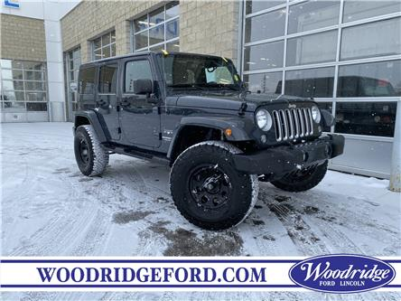 2017 Jeep Wrangler Unlimited Sahara (Stk: L-995A) in Calgary - Image 1 of 20