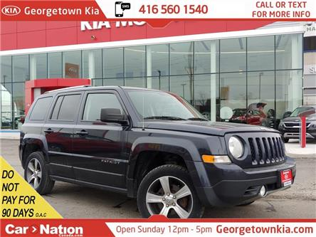 2016 Jeep Patriot High Altitude | 4WD| ROOF |LEATHER | HTD SEATS|B/T (Stk: P13160) in Georgetown - Image 1 of 36