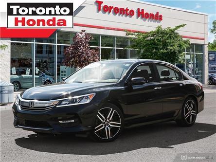 2016 Honda Accord Sedan Sport (Stk: H40091A) in Toronto - Image 1 of 26