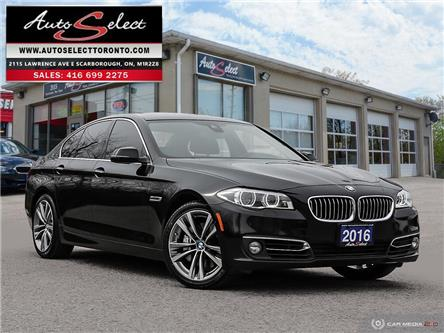 2016 BMW 535i xDrive (Stk: 1T6ALM7) in Scarborough - Image 1 of 27