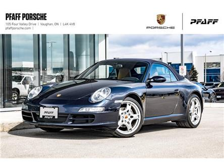 2008 Porsche 911 Carrera Cabriolet (Stk: U8611) in Vaughan - Image 1 of 22