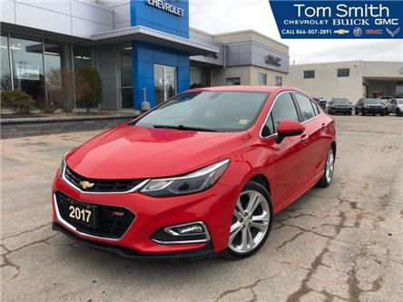 2017 Chevrolet Cruze Premier Auto (Stk: 190728A) in Midland - Image 1 of 20