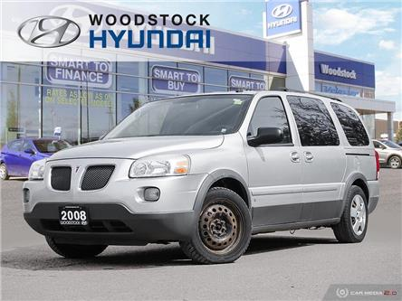 2008 Pontiac Montana SV6 FWD (Stk: HD19077A) in Woodstock - Image 1 of 27