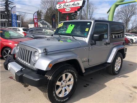 2015 Jeep Wrangler Sahara (Stk: S200017a) in Fredericton - Image 1 of 7