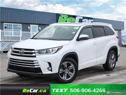 2018 Toyota Highlander Limited (Stk: 200464A) in Saint John - Image 1 of 25