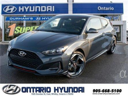 2020 Hyundai Veloster Turbo w/Sandstorm Leather (Stk: 025968) in Whitby - Image 1 of 20