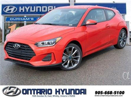 2020 Hyundai Veloster Turbo w/Sandstorm Leather (Stk: 024460) in Whitby - Image 1 of 19
