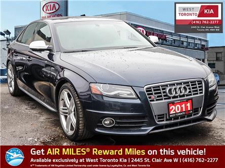 2011 Audi S4 3.0 Premium (Stk: T20229) in Toronto - Image 1 of 21