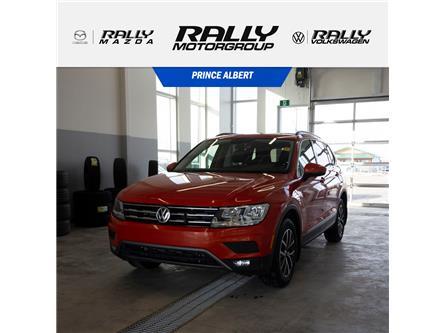 2018 Volkswagen Tiguan Comfortline (Stk: V1122A) in Prince Albert - Image 1 of 17