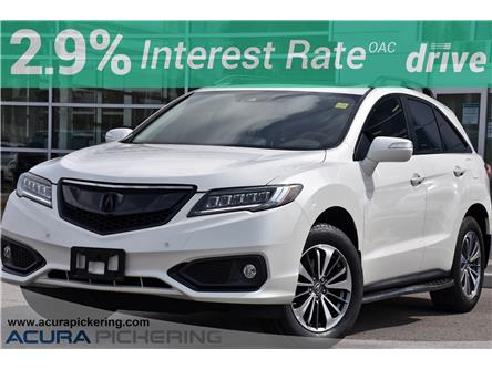 2017 Acura RDX Elite (Stk: AU365A) in Pickering - Image 1 of 40