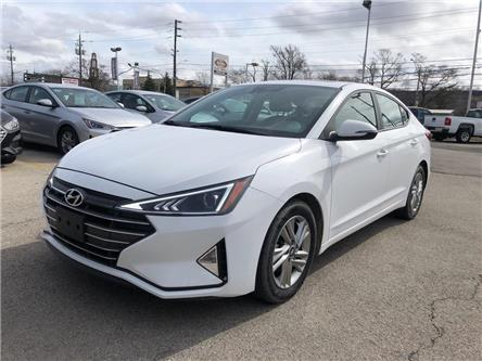 2020 Hyundai Elantra Sunroof | Apple/Android | Lane departure| Bu cam (Stk: 5637) in Stoney Creek - Image 1 of 23