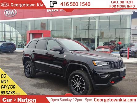 2017 Jeep Grand Cherokee Trailhawk | 4X4 | V6 | NAVI | PANO ROOF | LEATHER (Stk: P13235) in Georgetown - Image 1 of 50