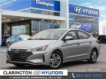 2020 Hyundai Elantra Preferred w/Sun & Safety Package (Stk: U1054) in Clarington - Image 1 of 27
